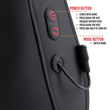 Load image into Gallery viewer, Heated Shiatsu Full Back Massager
