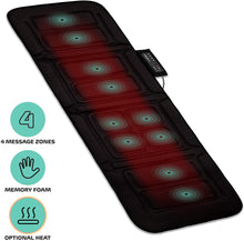 Load image into Gallery viewer, Full-Body Massage Mat, Black