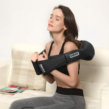Load image into Gallery viewer, Shiatsu Massager with Heat for Neck and Back (Black)