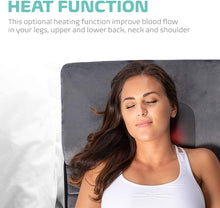 Load image into Gallery viewer, Full-Body Massage Mat w/ Shiatsu Neck Massage