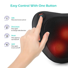 Load image into Gallery viewer, Ergonomic Heated Pillow Massager