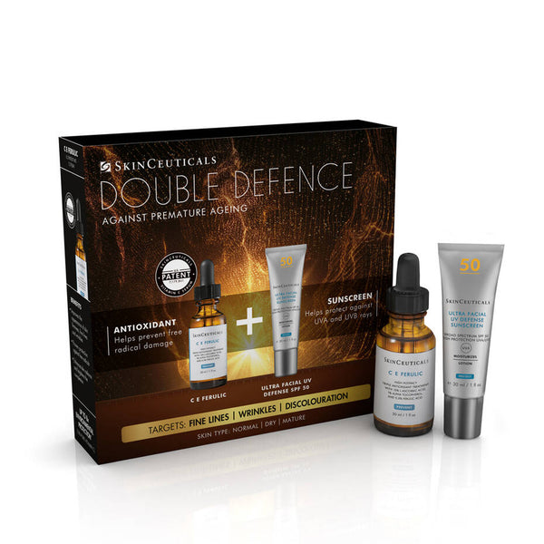 Double Defence C E Ferulic Kit for Dry and Ageing Skin-SKIN 65
