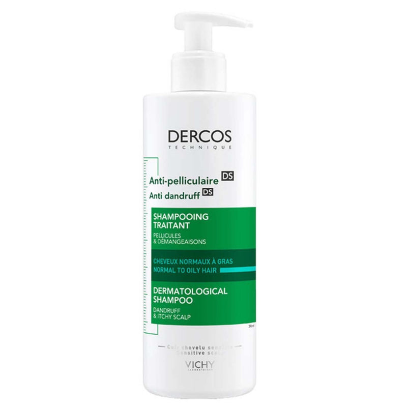 Dercos Anti-Dandruff Shampoo For Normal To Oily Hair 200ml
