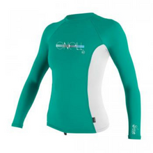 Load image into Gallery viewer, Girls Skins L/S Crew Rashguard