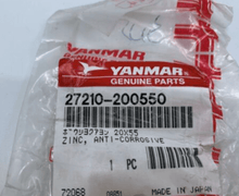Load image into Gallery viewer, Yanmar Genuine Zinc, Anti-Corrosive 27210-200550
