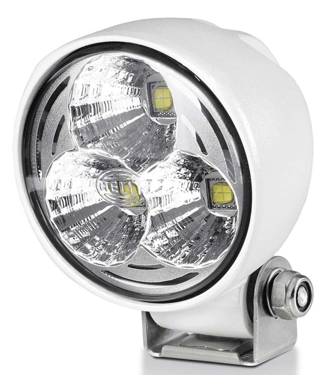 Hella - Module 70 LED Floodlight - Long range - White Housing