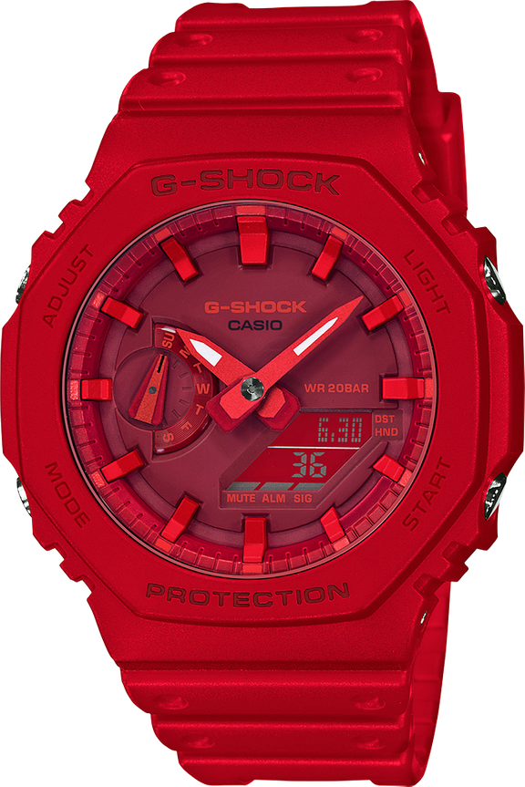G-Shock Minimalist Analog-Digital GA2100-4A