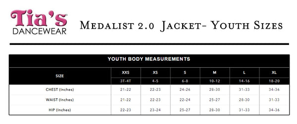 Medalist 2.0 Jacket - Youth
