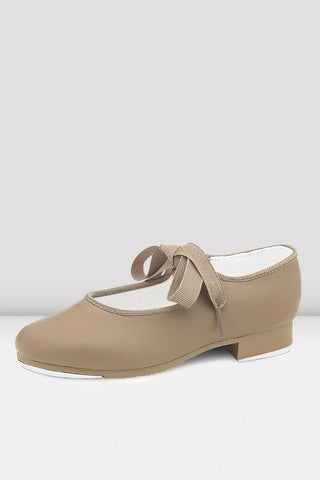 Dance Now Student Tap Shoes - Girls TAN