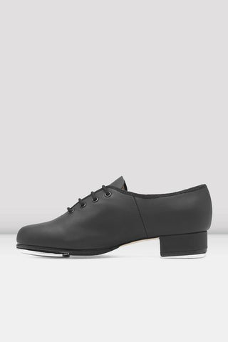 Bloch Jazz Tap Leather Tap Shoes - Girls BLACK