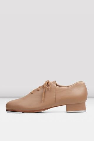 Bloch Jazz Tap Leather Tap Shoes - Ladies TAN