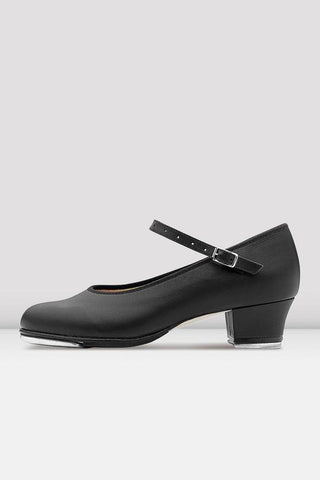 Bloch Showtapper Leather Tap Shoes - Ladies BLACK LEATHER