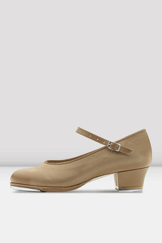 Bloch Showtapper Leather Tap Shoes - Ladies TAN LEATHER