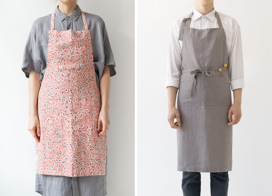 Daily linen apron and chef linen apron