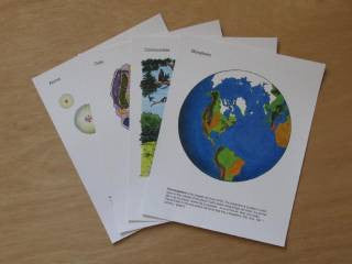 From the Biosphere to Atoms posters