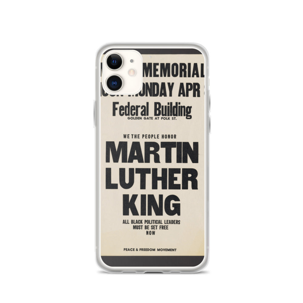 Martin Luther King Jr. Memorial iPhone Case