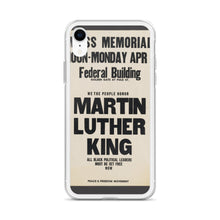 Load image into Gallery viewer, Martin Luther King Jr. Memorial iPhone Case