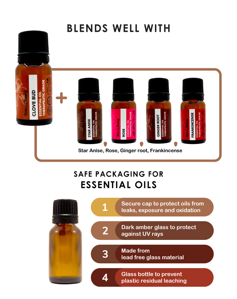 Yein&Young Clove Bud Essential Oil - 10ml