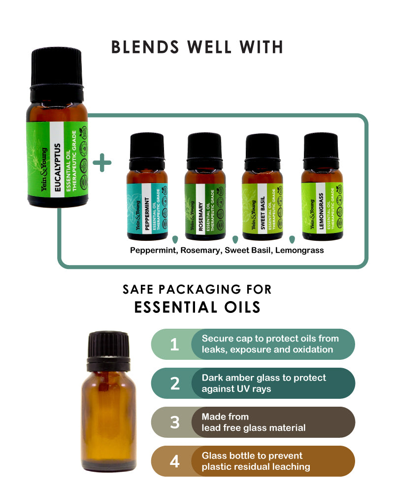 Yein&Young Eucalyptus Essential Oil - 10ml