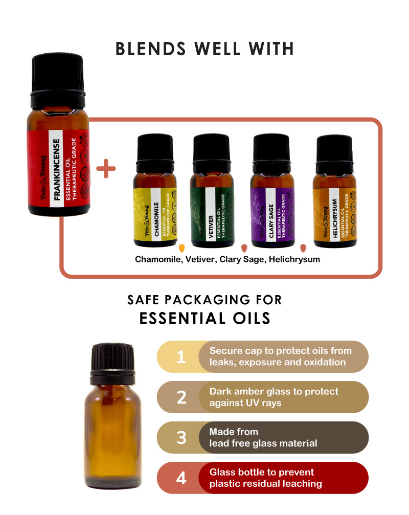 Yein&Young Frankincense Essential Oil - 10ml