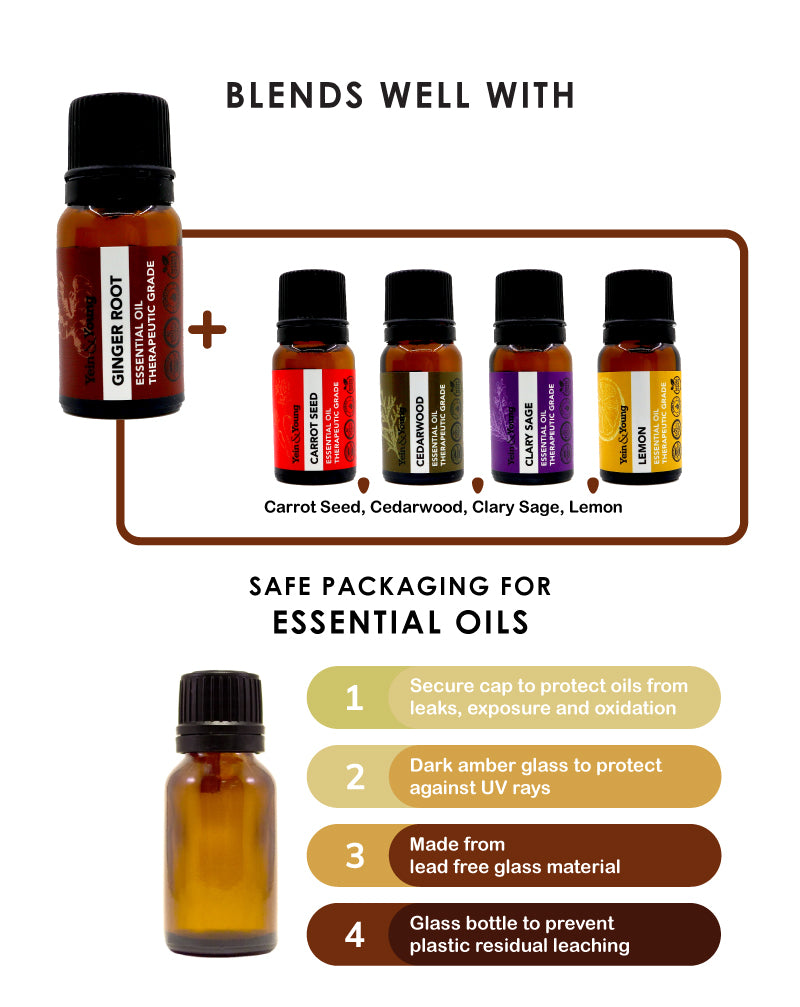 Yein&Young Ginger Root Essential Oil - 10ml