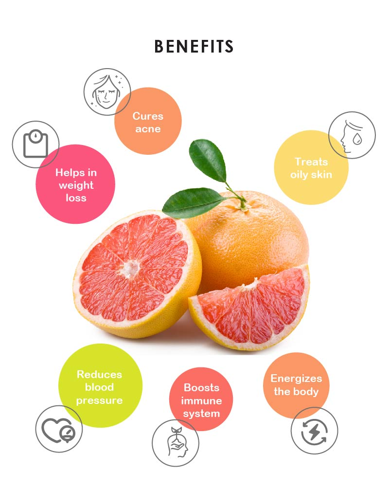 Yein&Young Grapefruit Essential Oil - 10ml