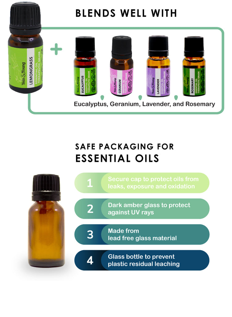 Yein&Young Lemongrass Essential Oil - 10ml