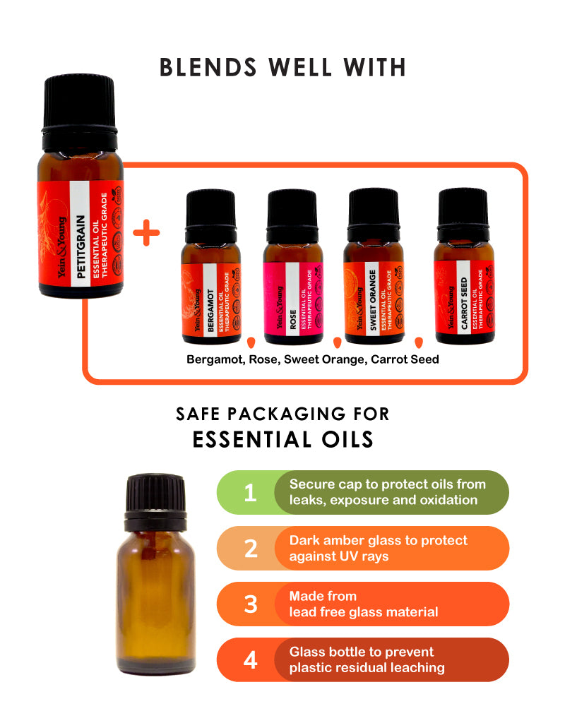 Yein&Young Petit Grain Essential Oil - 10ml