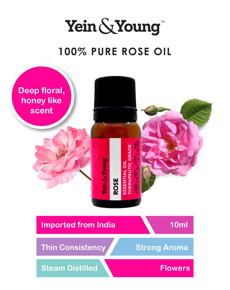 Yein&Young Rose Essential Oil - 10ml