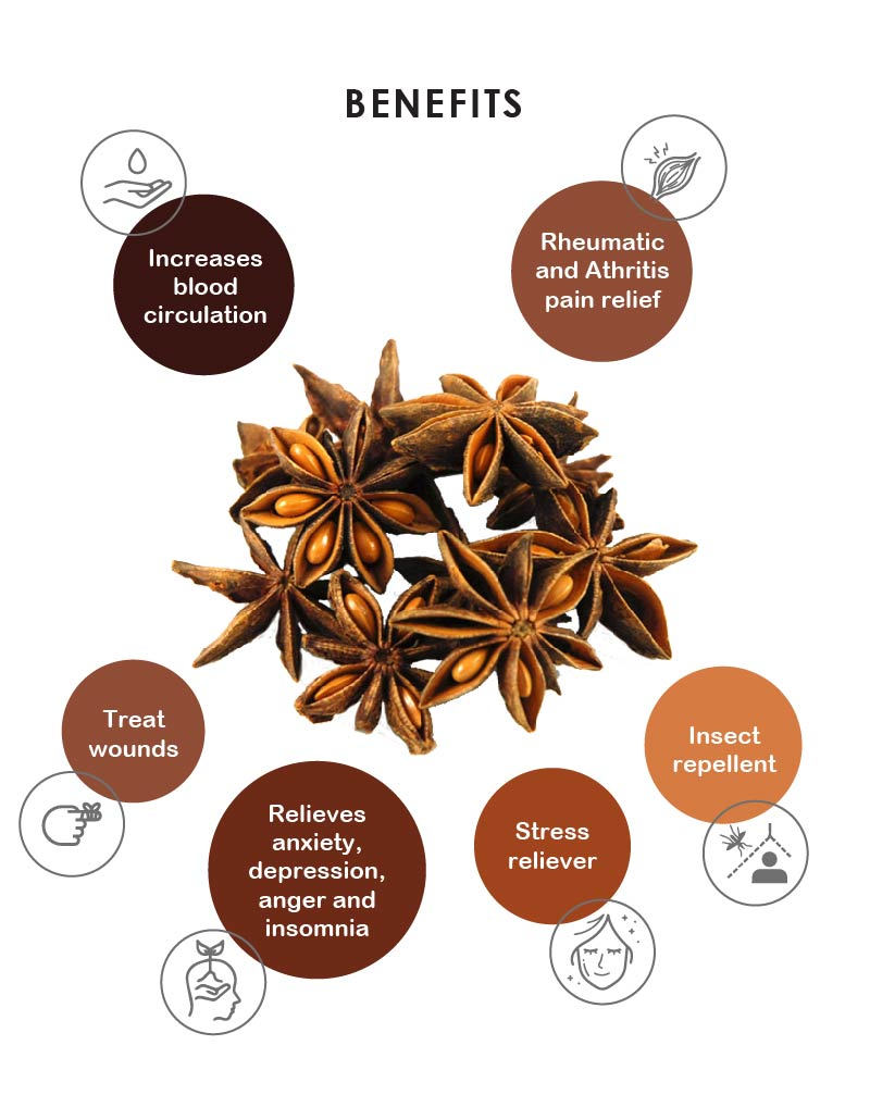 Yein&Young Star Anise Essential Oil - 10ml