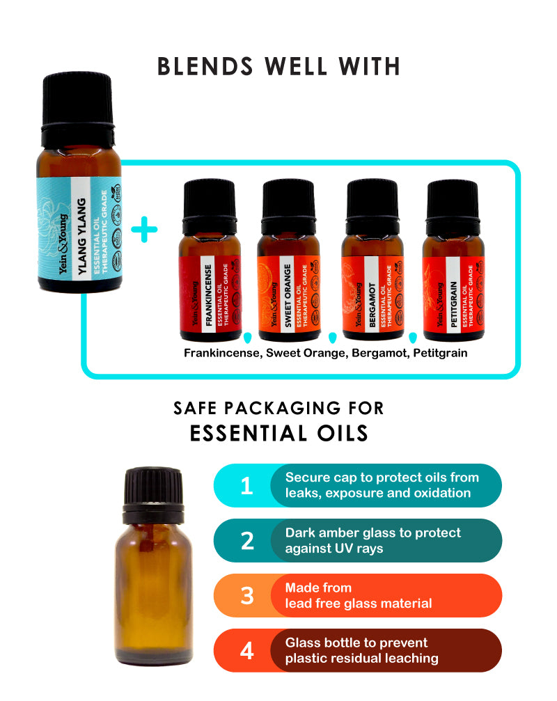 Yein&Young Ylang Ylang Essential Oil - 10ml