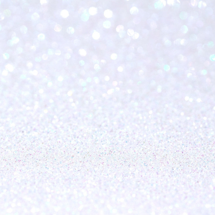 Cosmetic Glitter - Rainbow Lilac White - 10g Ingredients - Craftiviti