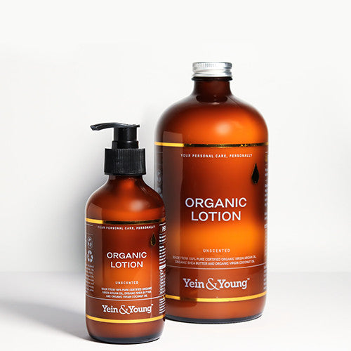 Yein&Young Organic Lotion - Unscented Ingredients - Craftiviti