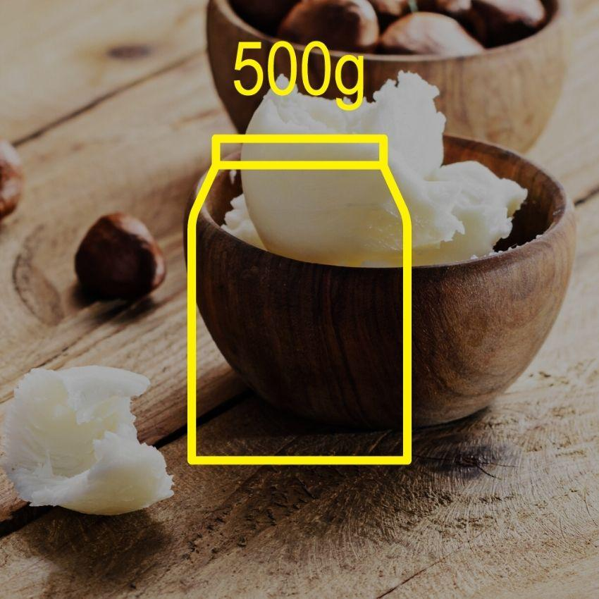Pure Shea Butter (Sweden) 500g Ingredients - Craftiviti