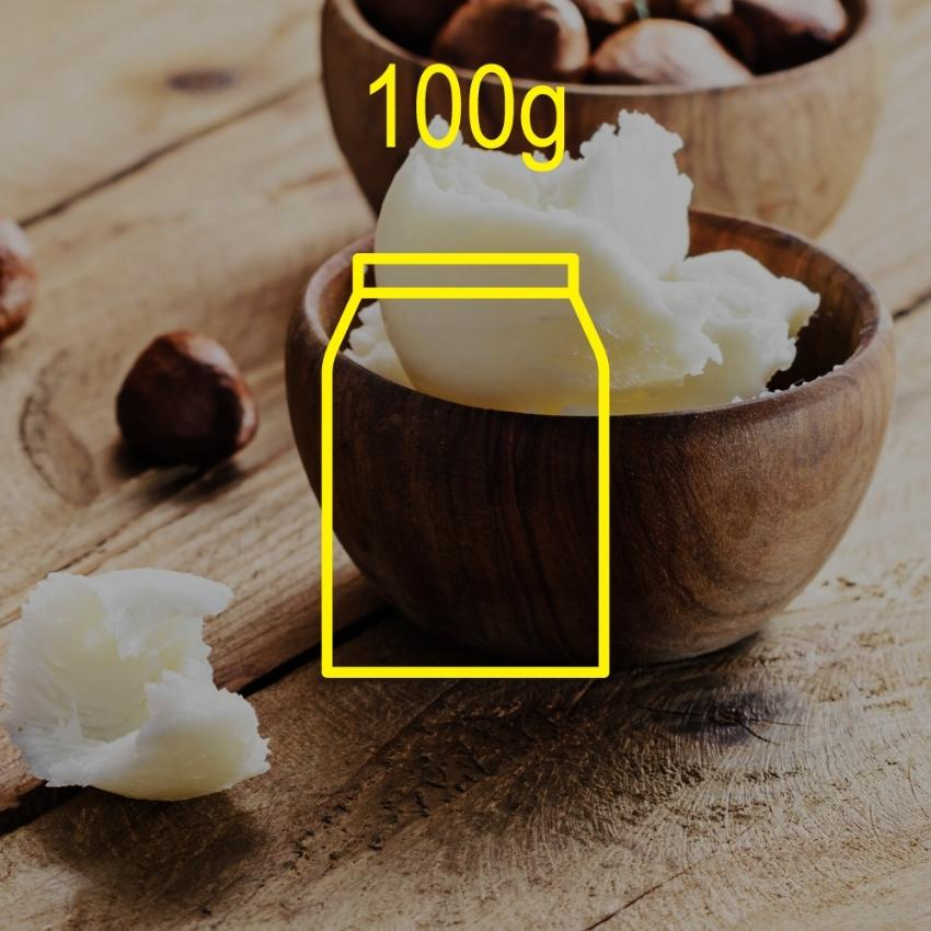Pure Shea Butter (Sweden) 100g Ingredients - Craftiviti