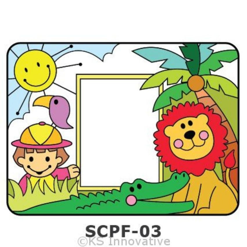 Sun Catcher Photo Frame Painting Kit Kits - Craftiviti
