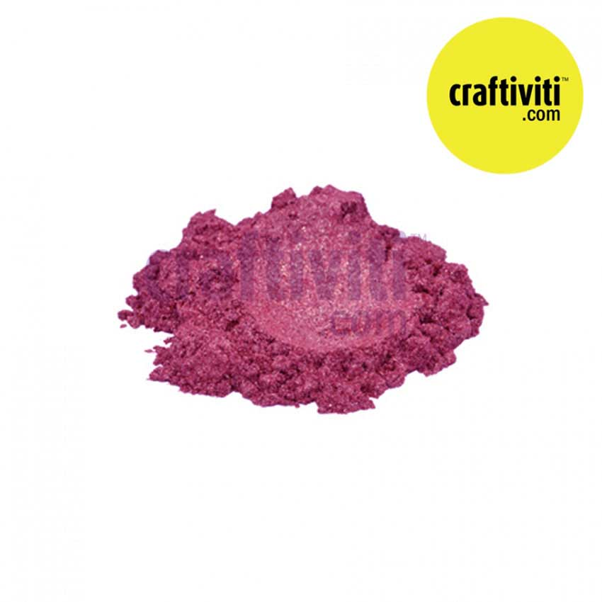 Mica Cosmetic Grade - Mauve - 10g Ingredients - Craftiviti
