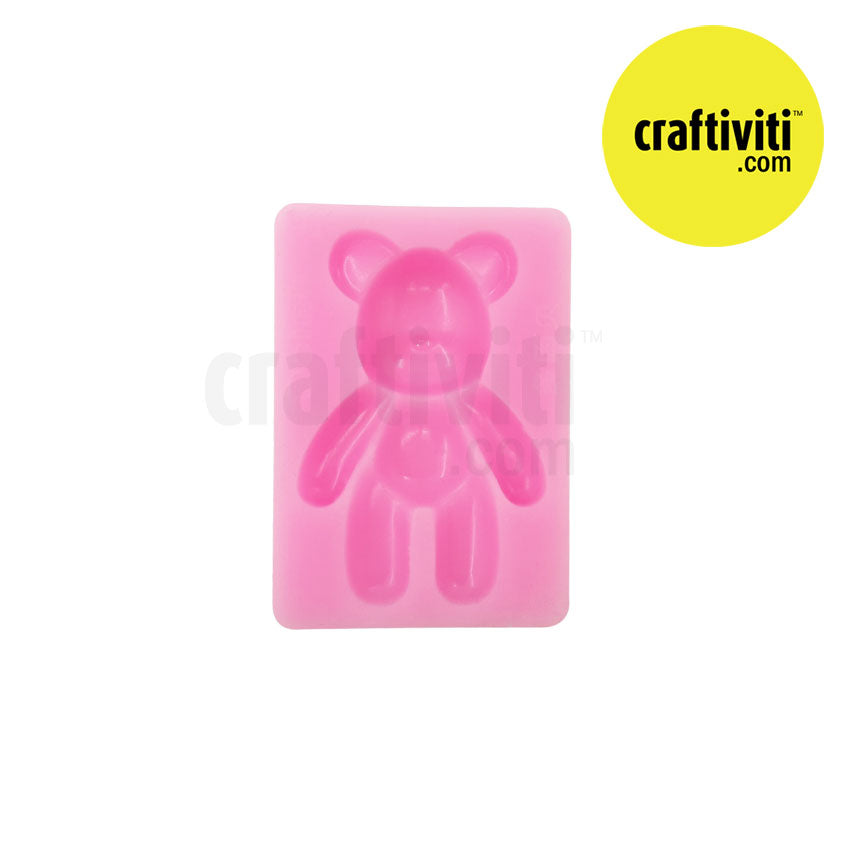 Small Bear Resin Silicone Mold Molds - Craftiviti