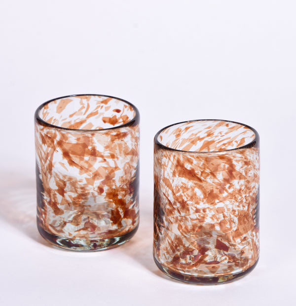 Handblown Water Tumbler