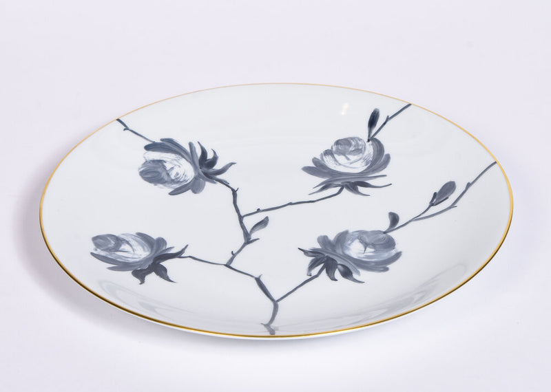 Marie Daâge Grey Dinner Plates - Set of Four