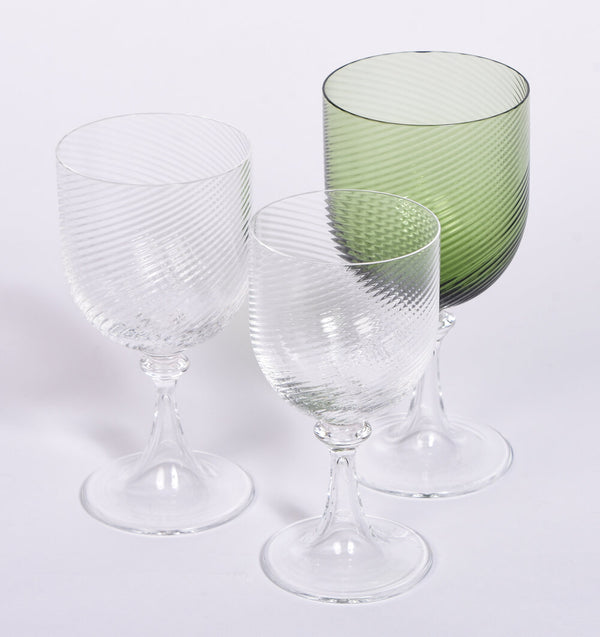 Nason and Moretti Twisted Glasses