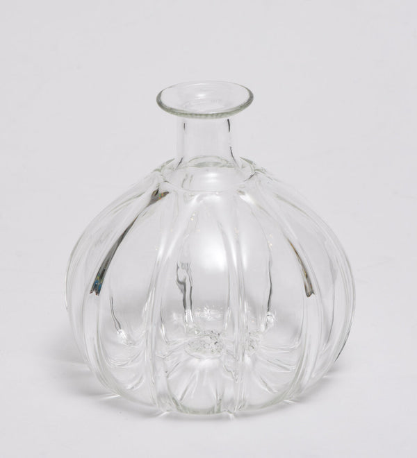 Handblown Smoke Vase