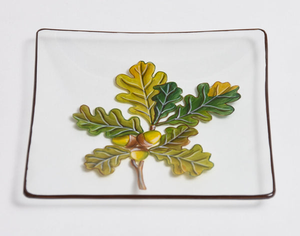 Glass Biscuit Plates