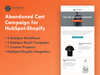 ABANDONED CART CAMPAIGN FOR HUBSPOT-SHOPIFY
