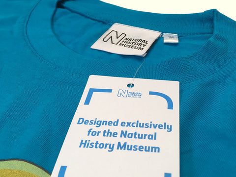 Case Study - natural history museum bespoke labels Kingfisher Giftwear