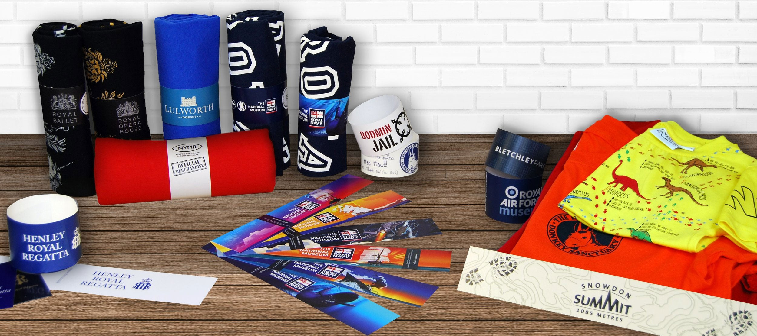 A range of products produced by Kingfisher Giftwear
