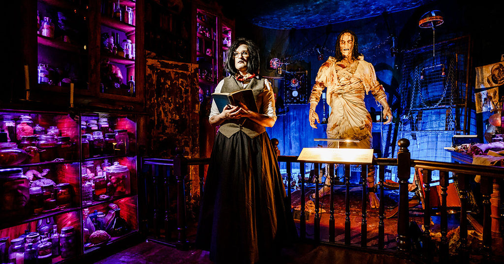 Mary-Shelleys-House-of-Frankenstein-8ft-tall-animatronic-creature
