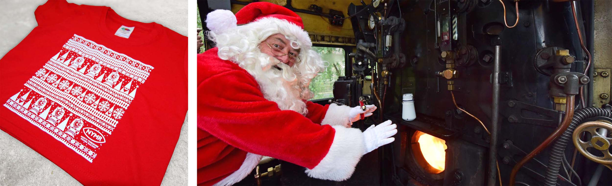 North Yorkshire Moors Railway at Christmas with Kingfisher Giftwear