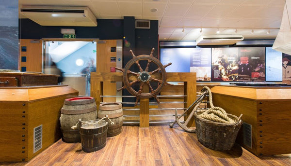 The Mayflower Museum in Plymouth as supplied by Kingfisher Giftwear