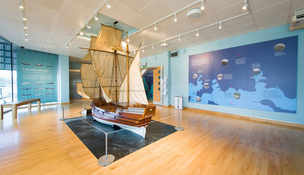 Plymouth Mayflower museum as supplied by Kingfisher Giftwear